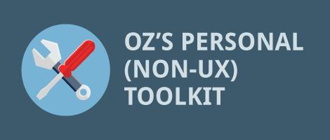 Oz-Personal-Non-UX-Toolkit