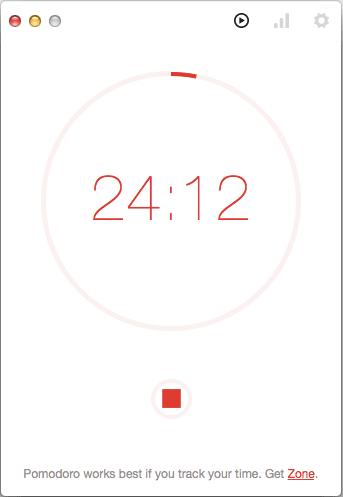 UX-Beginner-Pomodoro-One-Screenshot