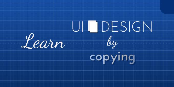 UX-Beginner-Learn-UI-by-Copying-Header