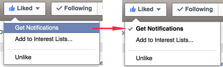 UX Beginner Facebook Page Like Instructions
