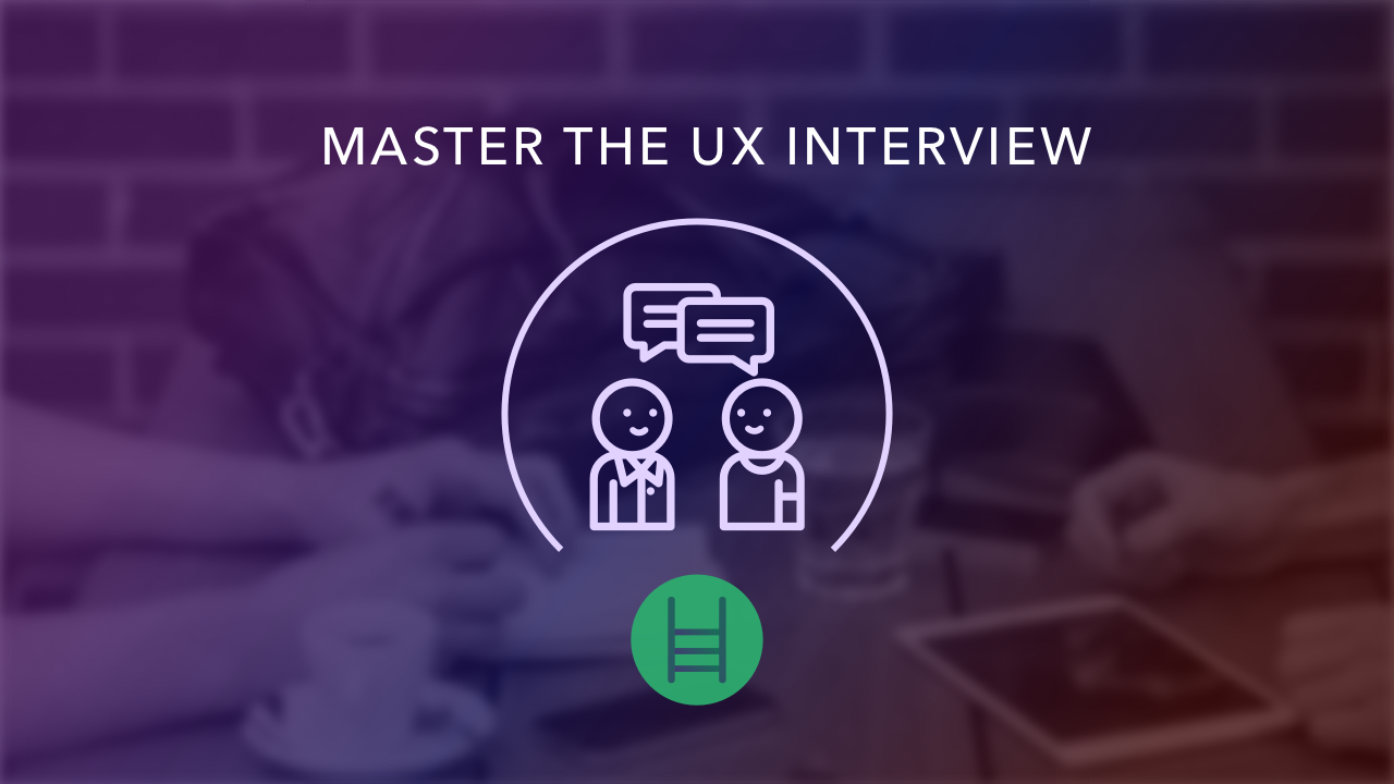 master the ux interview course