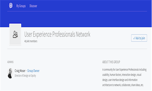 best-ux-design-communities-groups-User Experience Professionals Network