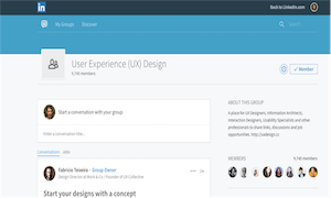 best-ux-design-communities-groups-User Experience (UX) Design